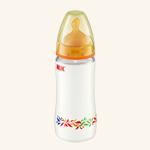 NUK First Choice PP-Babyflasche mit Latex-Sauger