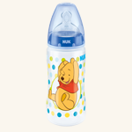 NUK Winnie Pooh First Choice PP-Babyflasche mit Silikon-Sauger