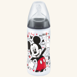 NUK Mickey First Choice Plus PP-Flasche mit Silikon-Sauger